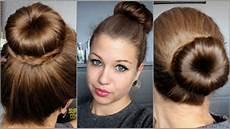 tutoriel coiffure n 176 19 3 chignons avec un donut