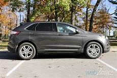 2015 ford edge titanium awd review web2carz