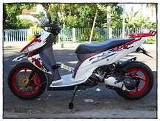 Modifikasi Motor Matic Touring by Kumpulan Modifikasi Motor Matic Terlengkap Dunia Motor