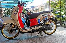 Honda Scoopy Modifikasi by 100 Gambar Modifikasi Honda Scoopy Sport Elegan
