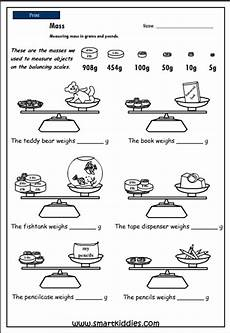 mass measurement worksheets grade 1 1750 measuring mass in pounds and grams studyladder interactive learning