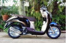 Scoopy Karbu Modif by Kumpulan Modifikasi Motor Honda Scoopy Terbaru Modif