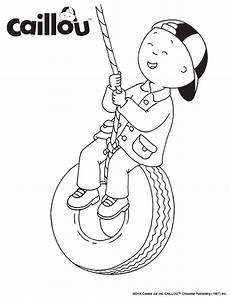 Malvorlagen Caillou Free Print Color Caillou Is Swinging Into Fall Caillou