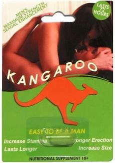 kangaroo men s maximum strength sexual enhancement 1ct