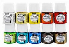 vitrail glass paints opaque pebeo 45ml hobbyworld direct