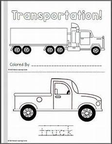 transportation worksheets for pre k 15224 construction zone for community helpers preschool theme worksheets
