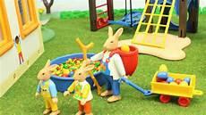 Playmobil Ausmalbilder Ostern Osterhasen In Der Kita Playmobil Seratus1 Stop Motion