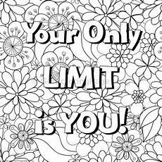 inspirational word coloring pages 65 getcoloringpages org