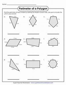 perimeter of a polygon worksheet 9 geometry worksheet exles for students pdf exles