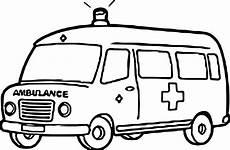 ambulance coloring page wecoloringpage