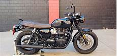 New 2019 Triumph Bonneville T120 Black Motorcycle In