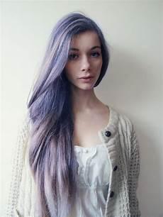 lila blaue haare cabelos coloridos cabelo colorido in 2019 haarfarben