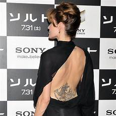 angelina jolie s tattoos did you know she has one for