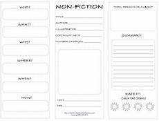 nonfiction student worksheet nonfiction worksheets and students