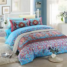 blue and pink floral bedding set ebeddingsets