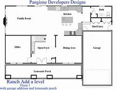 ranch house addition plans nj home additions ranch floor plan 1 bergen county