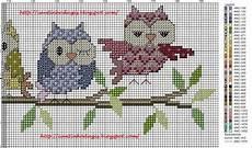 tappeti punto croce schemi punto croce punto croce cross stitch owl cross
