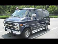 1994 Chevrolet G20 Conversion Van Start Up Exhaust And