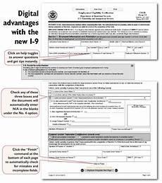 printable form i 9 eligibility verification exle