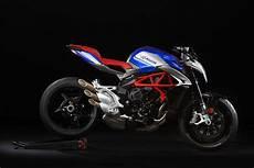 White And Blue Mv Agusta Brutale 800 America