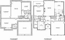 one story house plans with basement lovely house plans with basements one story