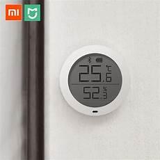 Miaomiaoce Smart Clock Thermometer Hygrometer Bluetooth by Xiaomi Mijia Bluetooth Hygrothermograph High Sensitive