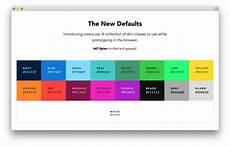 colors default web palette replacement progville