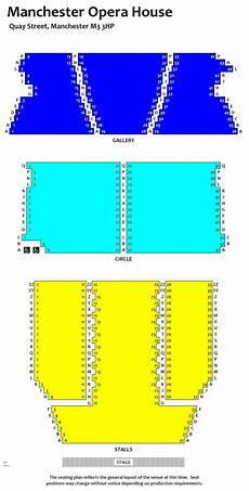 seating plan manchester opera house buy biffy clyro tickets at manchester opera house
