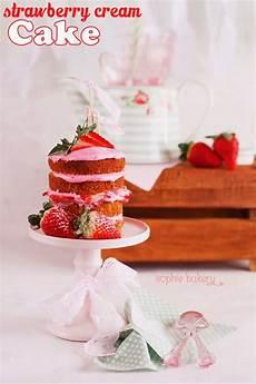 ingles strawberry cake el blog de chic bakery strawberry cream cake por sophie bakery