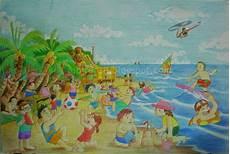 Liburan Di Pantai Japirensil