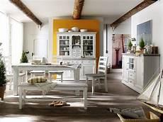 Esszimmer Weiß Landhausstil - esszimmer weiss landhausstil opus komplett recycle kiefer