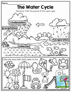 earth science water cycle worksheets 13266 may no prep packet kindergarten water the o jays and other
