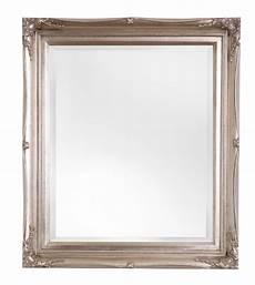 spiegel mit silberrahmen verona stimmungsvoller spiegel mit klassischem