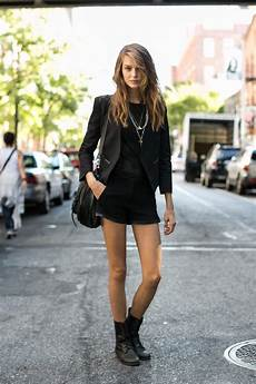 Style Rock Chic Femme Hiver
