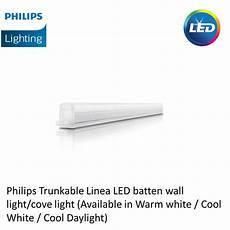 philips trunkable linea led batten wall light cove light 3ft 9w 750lm shopee singapore