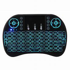 4ghz Wireless Colors Rainbow Backlight Keyboard by Remote Controls I8 Plus 2 4ghz Wireless 7 Colors
