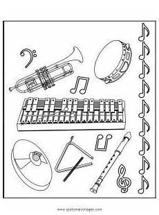 Malvorlagen Instrumente Gratis Musikinstrumente Gratis Malvorlage In Diverse Malvorlagen