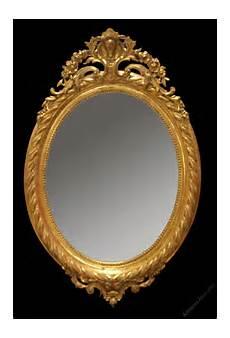 antiques atlas large antique gilt oval mirror