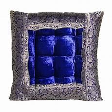 Orientalische Sitzkissen Shop - orientalisches sitzkissen blau mar55 bei ihrem orient
