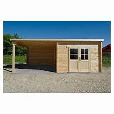 abri bois toit plat 9m 178 40mm terrasse couverte 9m 178 gardy