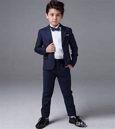 Blue Color Boy Suits Wedding Occasion Formal