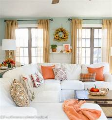 decor ideas for home pretty orange fall living room tips resource list four