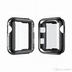 42mm Plating Front Screen Protector by 360 Protection Soft Tpu Front Screen Protector
