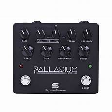 Seymour Duncan Palladium Gain Stage Overdrive Black At
