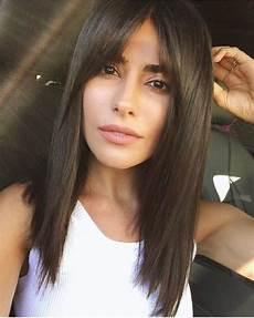 Cheveux Mi Longs Avec Frange Inspirez Vous Coiffure