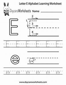 learning letters worksheets for kindergarten 23508 free letter e alphabet learning worksheet for preschool learning worksheets alphabet