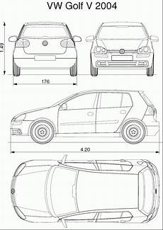 dimensions golf 5 volkswagen golf v blueprint free blueprint for 3d modeling