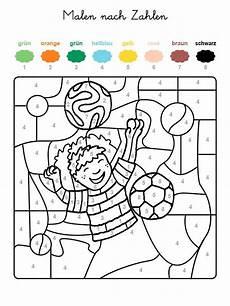 Ausmalbilder Fasching Malen Nach Zahlen Kostenlose Malvorlage Malen Nach Zahlen Fu 223 Ballspieler