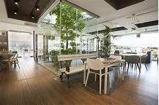 arbre d interieur design beautiful cafe interior with tree stock image image of