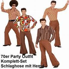 Mode Der 70er Bilder - 70er jahre herren schlaghose hemd braun kost 252 m disco